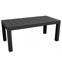 Jut Mesa 180 Table rectangular Vondom black