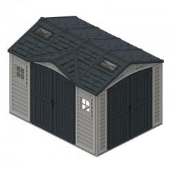 Duramax Garden Shelter 8m2 10 x 8 PVC Anthracite Grey