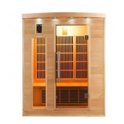 Sauna infrarouge Apollon Quartz 3 places France Sauna