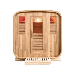 Sauna extérieur Gaïa Nova 6 places Holl's