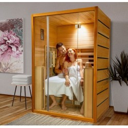 Traditional Sense 4-seat Sauna Pack complete with Harvia stove 4.5 kW - stones and accessories