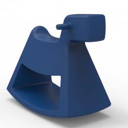 Rocking chair Rosinante Vondom Small blue model