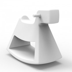 Rocking chair Rosinante Vondom Small white model