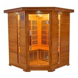 Assentos de sauna infravermelho luxo 3-4 - VerySpas de seleção