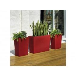 Pots d'extérieur Gratiano 50 rouge BaySeasons Design
