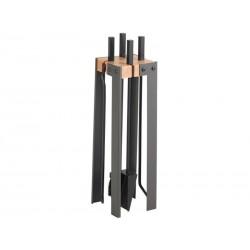Diseño de siervo diecinueve negro Duplex