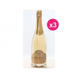 Champagne Grand Vintage Blanc de Blanc (box of 3) HeraLion