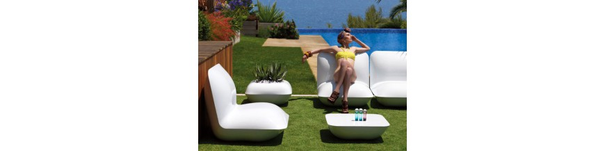 屋外の家具デザイン